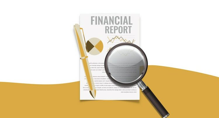 Financial reporting and analysis master section